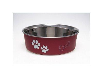 Honden Voerbak & Drinkbak - Vaatwasmachinebestendig, met Anti-Slip en Dierenarts aanbevolen antibacteriele RVS binnenzijde - Loving Pets Bella Bowl - 6 kleuren in Small to Extra-Large