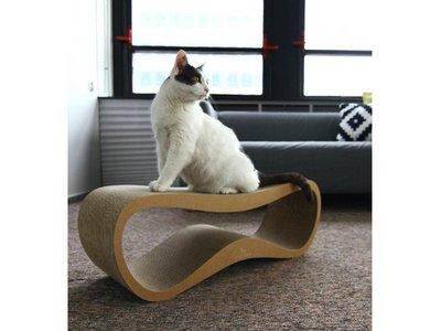 Krabmeubel Trendy & Modern - myKotty Lui - in Wit, Zwart of Bruin - 75x25x25cm