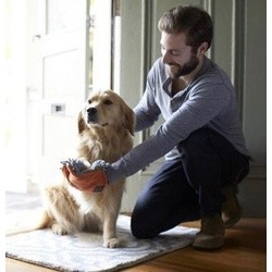 Absorberende Microvezel Droogdoek voor Hondenpoten