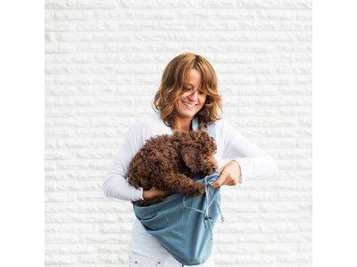 4LazyLegs Pocket Draagtas voor Pups en Kleine Honden tot 7kg