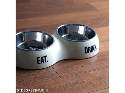 Dubbele Design Bakjes voor Katten