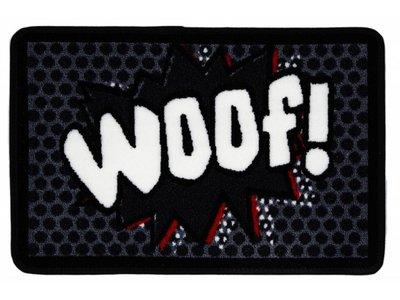 Pet Rebellion Wasbare Voerbakmat Woof!