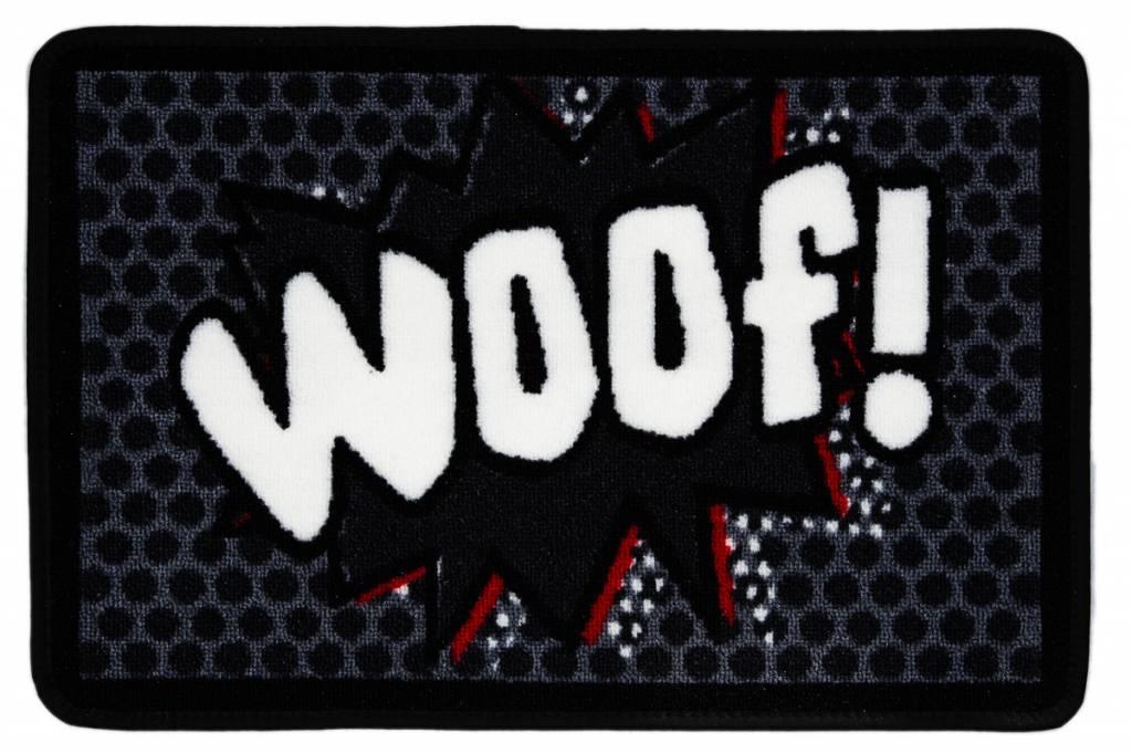 Wasbare Voerbakmat Woof!