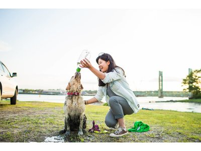 Mud Dog Reis Handdoek voor Honden