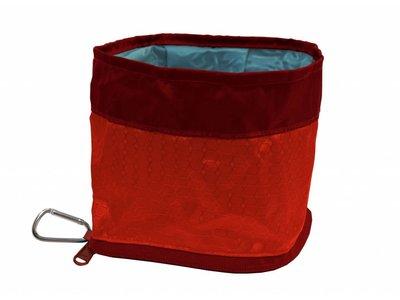 Kurgo Zippy Bowl - Compacte Lichtgewicht Opvouwbare Bak voor Honden