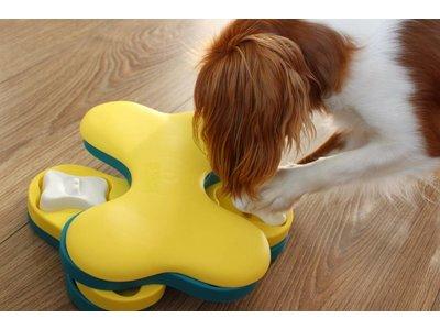 Tornado Blu Interactief Snack Spel voor Honden