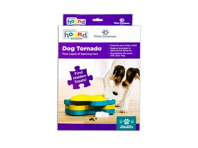 Interactief Snack Spel voor Honden - Outward Hound Tornado Blu