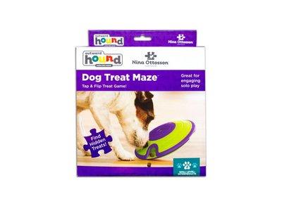 Treat Maze Hondenspel voor Snacks - Level 2 - Nina Ottosson by Outward Hound Hondenpuzzel