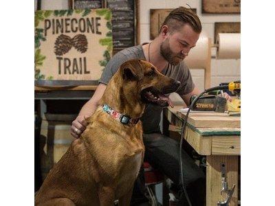 FurTrader Kleurrijke Honden Halsband