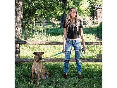 FurTrader Kleurrijke Hondenriem
