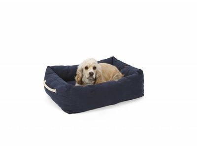 Zachte Hondenmand in Grijs en Blauw