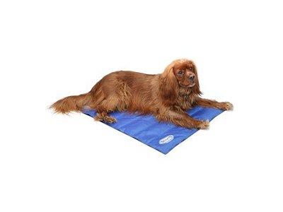 Scruffs Cooling Mat - Koelmat met zelf-koelende gel voor honden en katten - Zelfactiverend door het lichaamsgewicht van je hond - Blauw of grijs - S / M / L / XL