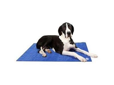 Koelmat voor Honden - Activeert zichzelf door gebruik door je hond - Scruffs Koelmat - Blauw of Grijs in maat S/M/L/XL