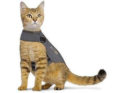 Rustgevend Anti-stress Vest voor angstige Katten - Thungershirt - in maat S/M/L