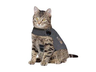 Rustgevend Anti-stress Vest voor angstige Katten - Thundershirt - in maat S/M/L