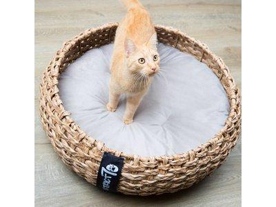 Hoogwaardige Rieten Kattenmand