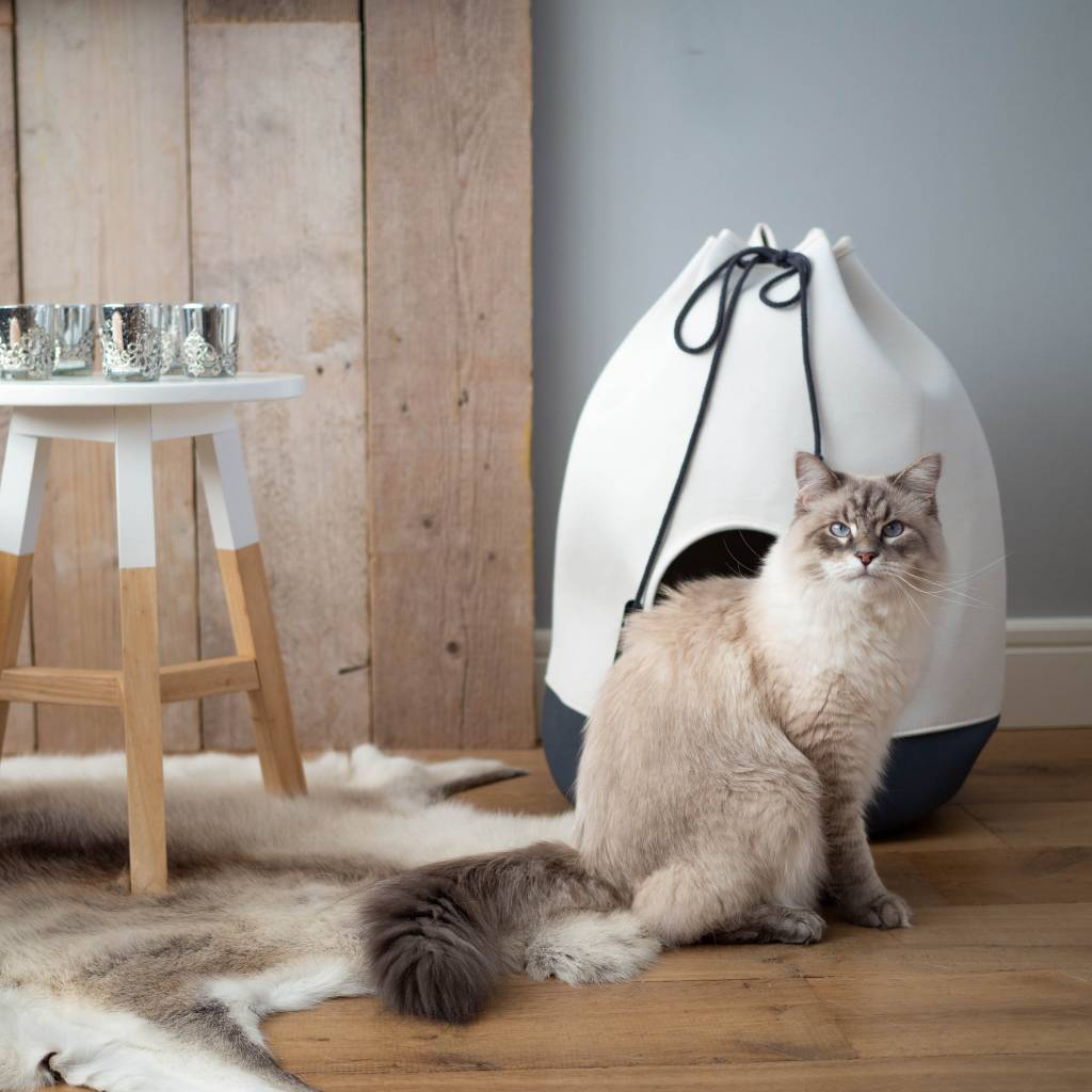 Opvouwbaar Katoenen Kattenhuis