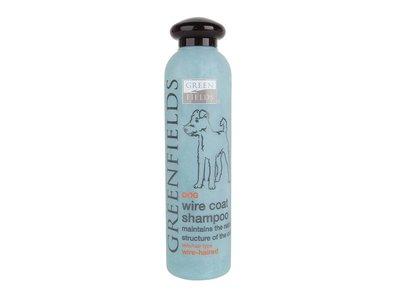 Shampoo voor honden met een ruwe vacht 250ml - Greenfields Wire Coat - Vrij van parabenen en PH-Neutraal