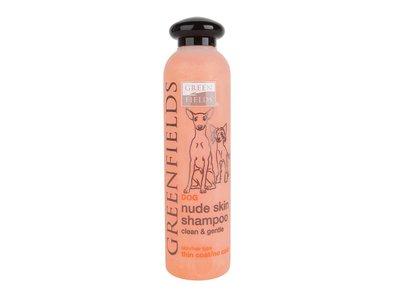 Unieke Shampoo voor naakthonden - Verzorgend en voorkomt uitdroging van de huid - Greenfields - 250ml