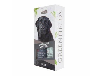 Labrador Vacht Verzorgingsset voor Gezonde, Zachte en Glanzende Vacht - Greenfields Shampoo en Spray