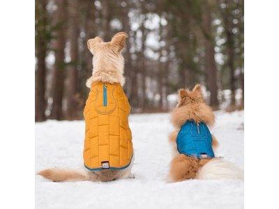 Thermo Warme Jas voor Honden - Reversible, Waterafstotend & Wasbaar - Kurgo Loft Jacket - in 4 kleuren in maten XS tot XL