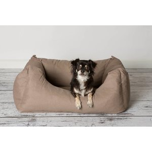 Comfortabele & Zachte Hondenmand Taupe Small