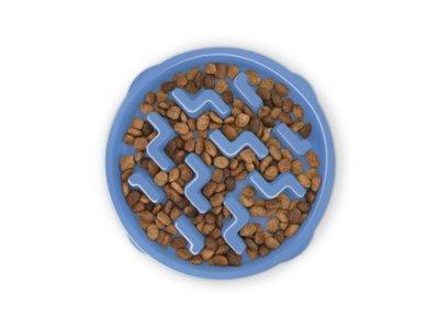 Anti Schrokbak Voerbak Honden - Outward Hound - 6 kleuren in maat XS/S/M - door Dierenartsen aanbevolen Honden Voerbak
