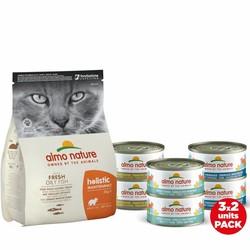 Almo Nature Compleet voedingspakket voor Katten - Tonijn