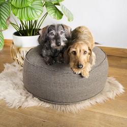Ronde Poef voor Kleine Honden