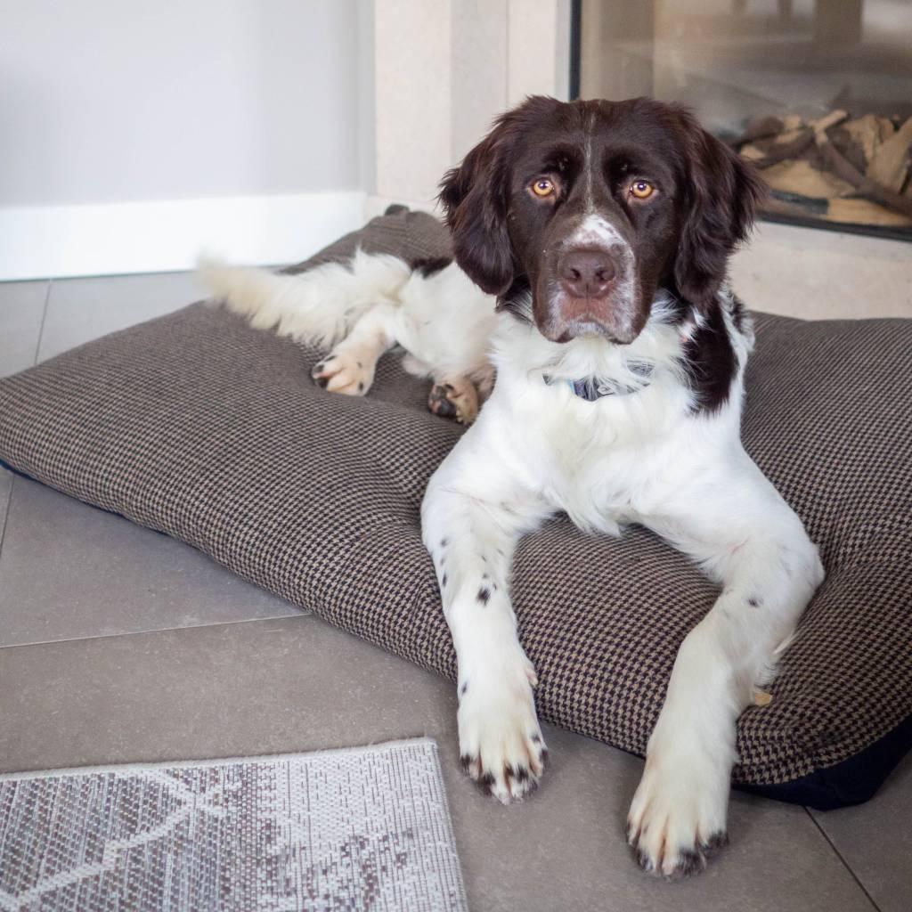 Luxe Tweed Hondenkussen 100x70