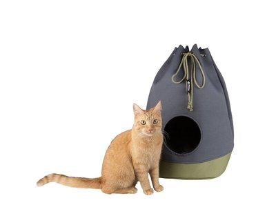Opvouwbaar Kattenhuis van Katoen voor Grote Katten