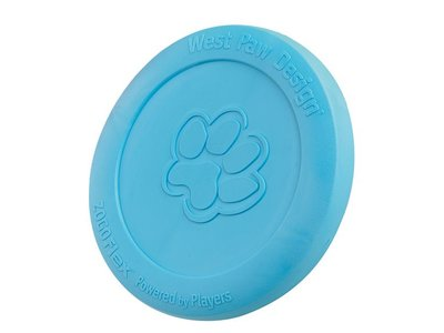 Flexibele Hondenfrisbee - van Onverslijtbaar Stevig Materiaal - Zogoflex Zisc - Blauw, Groen, Oranje of Glow in the Dark in Small of Large