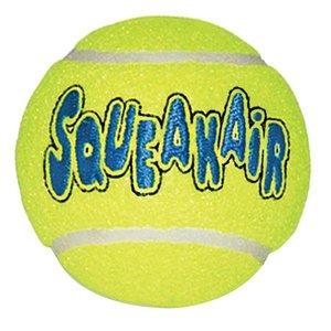 Kong SqueakAir Ball - Tennisbal met pieper voor honden