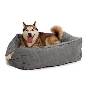 Zacht en Luxe Hondenmand in Grijs