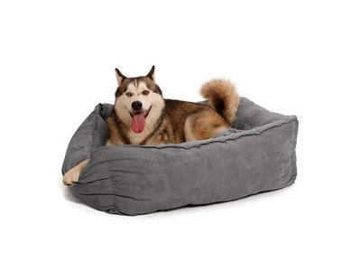 Hondenmand Luxe, zacht en warm - 51 Degrees North -  Grijs in S/M/L