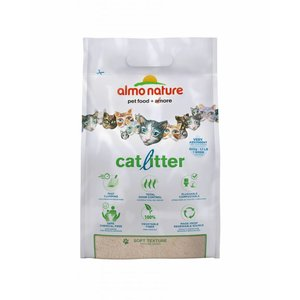Almo Nature Almo Nature Zuinige Kattenbakvulling Klontvormend en Milieuvriendelijk - in 2.27kg of 4.54kg