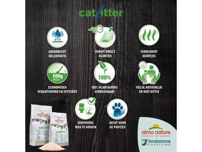 Almo Nature Kattenbakvulling Klontvormend en Milieuvriendelijk