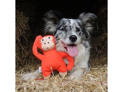 Beco Pets Pluche Knuffel Aap voor Honden
