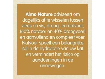 Almo Nature Multi Pack Tonijn (3 smaken, 2 blikjes (70 gram) per smaak) - Natvoer met 100% verse vis voor Katten