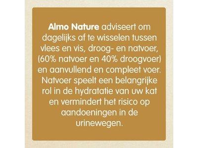 Maand Voedingspakket voor Katten - Almo Nature Droogvoer + Natvoer Kip/Vis of Mixed