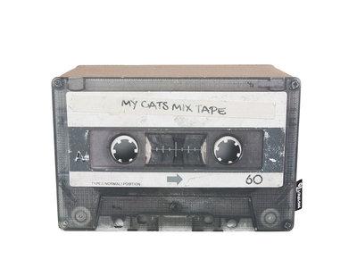Trendy Retro Krabmeubel van  duurzaam karton - District 70 Mixtape - Omkeerbaar in Zwart of Emerald - 28x20x25cm