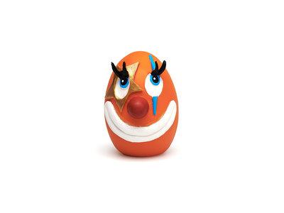 Hondenspeelgoed Clown Ei met zachte pieper & felle kleuren - Lanco