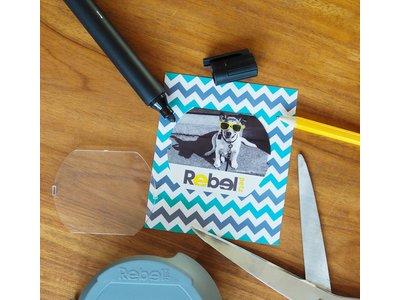 Gepersonaliseerde Flexi Hondenlijn met Rebel Petz Cover Up