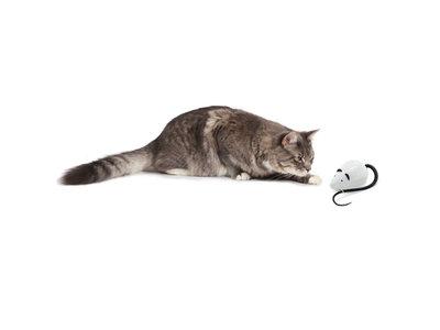 Automatisch Rondrollende Speelgoedmuis - Interactief kattenspeelgoed - Schakelt Automatisch uit - FroliCat Rolorat