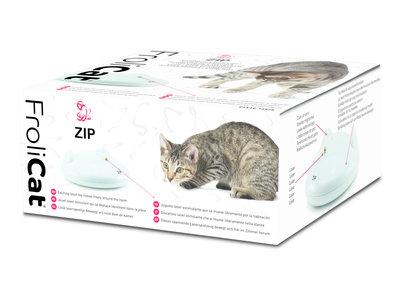 Automatisch Rondrijdend Kattenspeelgoed met Laserstraal - Schakelt Automatisch uit - FroliCat  Zip