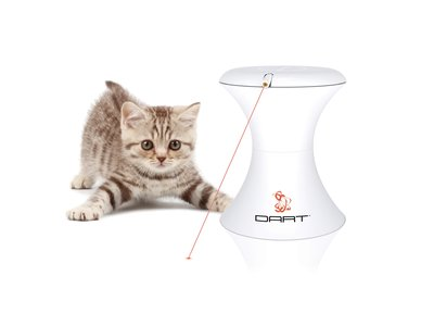 Kattenspeelgoed met Automatische  Ronddraaiende Laser - Met instelbare timer - FroliCat Dart