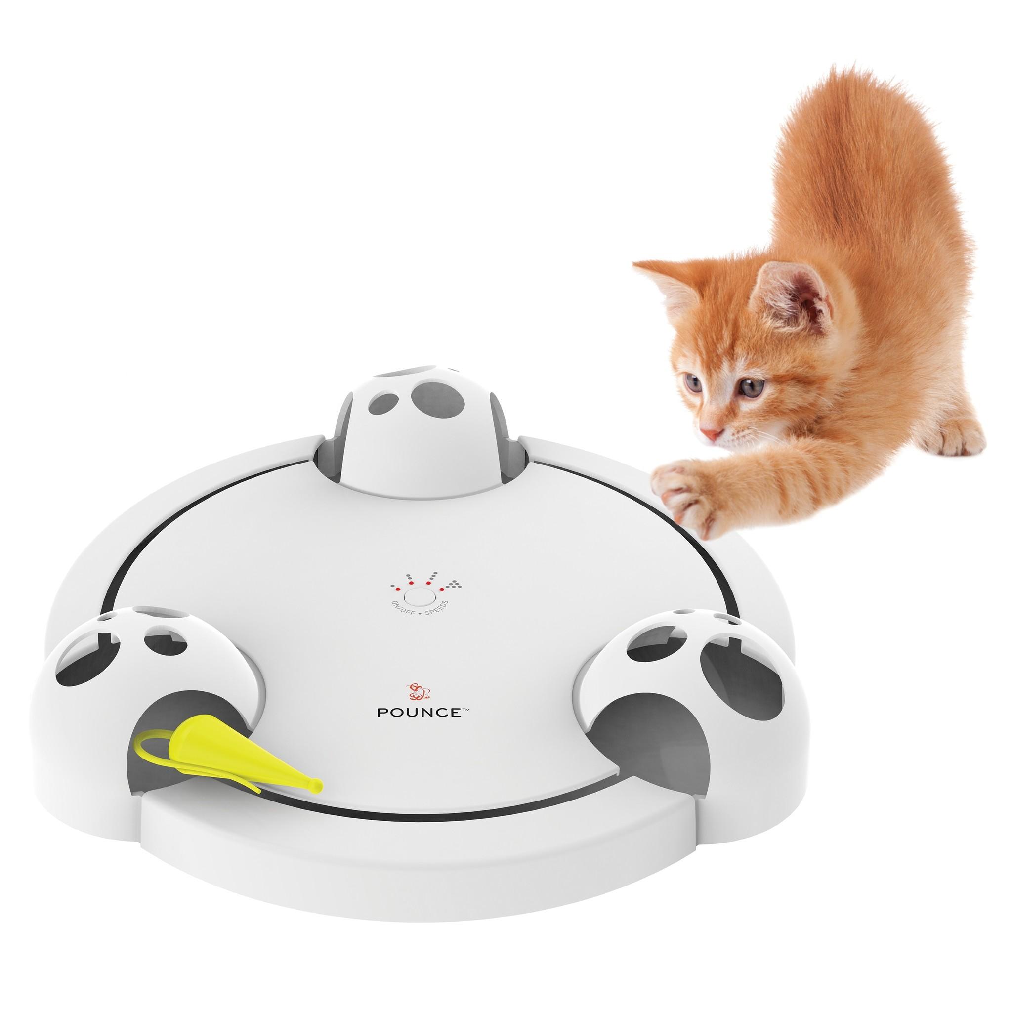 Automatisch Ronddraaiend Kattenspeelgoed