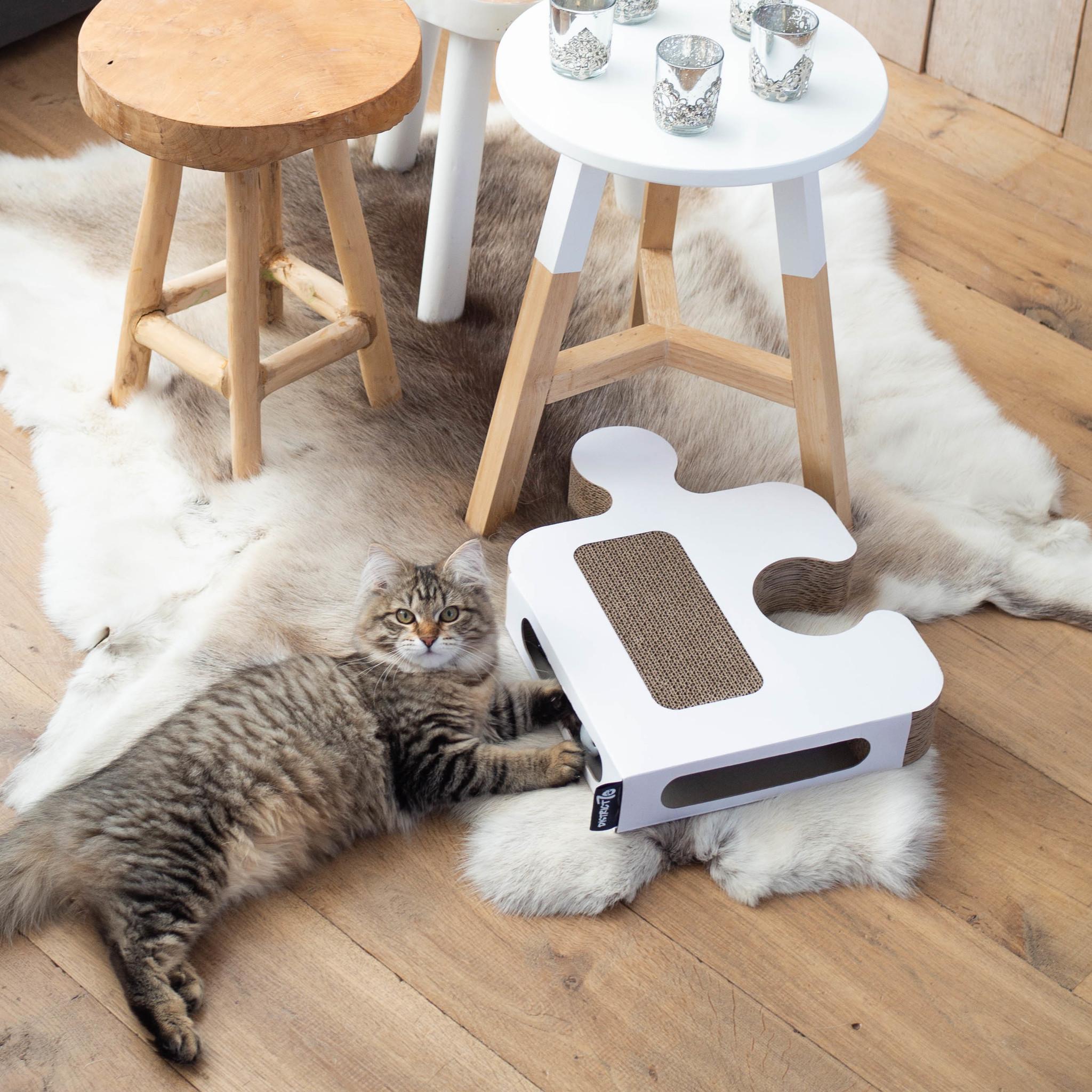 Kattenspeelgoed van Karton - PUZZLE