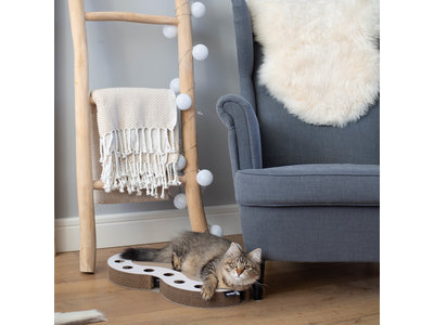 Interactief Design Krabspeelgoed voor katten van duurzaam karton - District 70 SNAKE