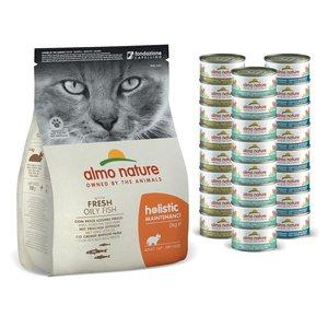Almo Nature Voordeelpakket Voeding voor Katten